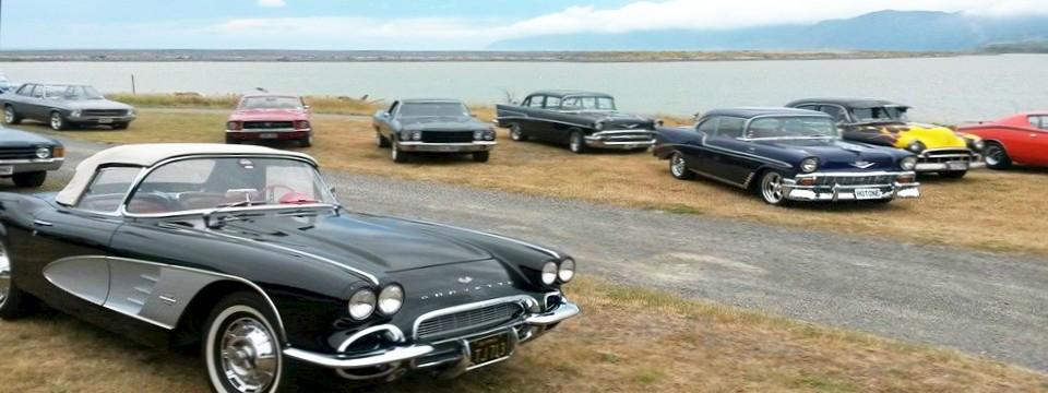 American muscle car visit